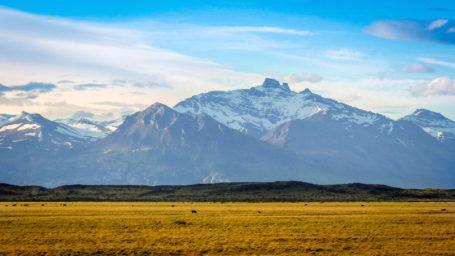 Weite Landschaft im Nationalpark Perito Moreno