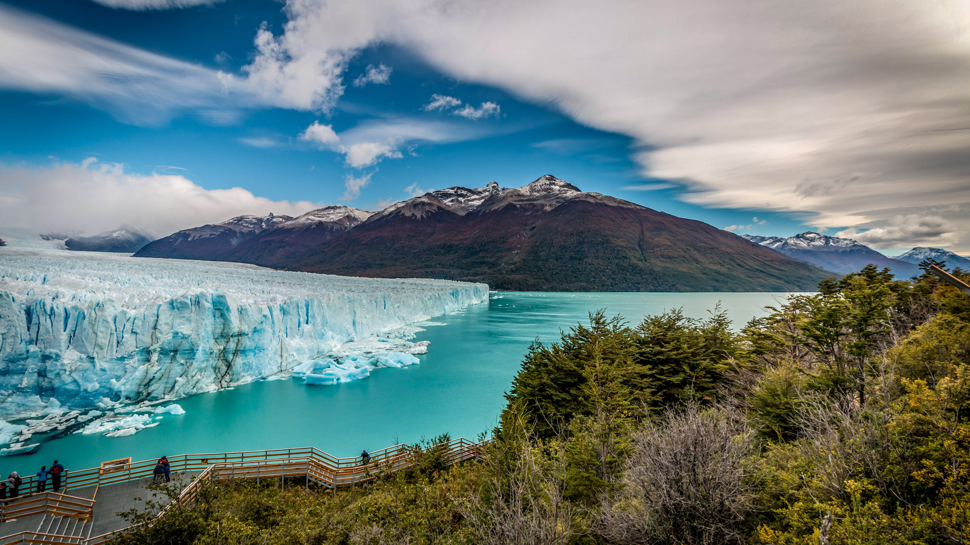 Der beeindruckende Perito Moreno Gletscher im Nationalpark Los Glaciares