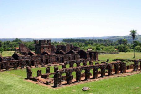 Ruine der Jesuitenmision Santisima Trinidad de Paraná
