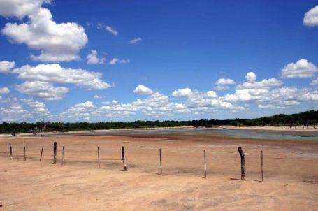 Salzsee im Chaco