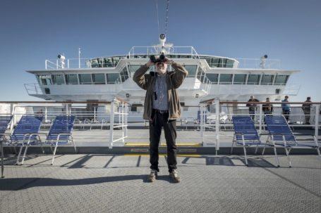 Auf der der MS Fram © Hurtigruten