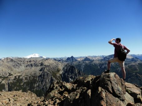 Blick vom Cerro Lopez