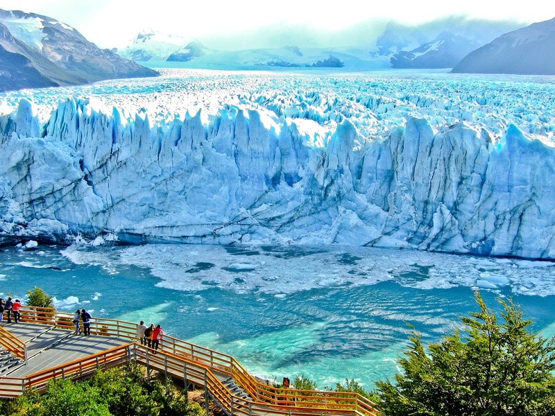 Der spektakuläre Perito Moreno Gletscher