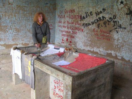Die Wäscherei in der Che Guevara aufgebahrt wurde