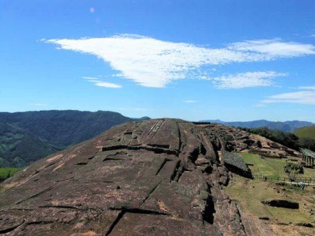Die Ruinen von El Fuerte