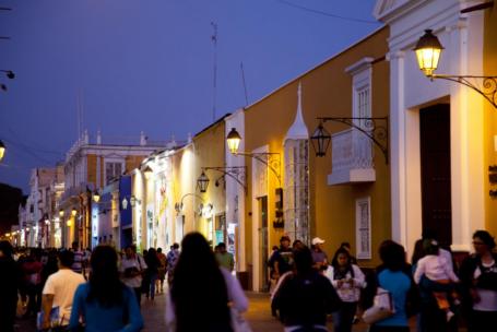Bunte Kolonialhäuser in Trujillo - Foto: promperú