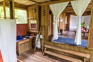 Die komfortable Calanoa Urwald Lodge