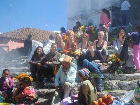 Marktbesuch in Chichicastenango