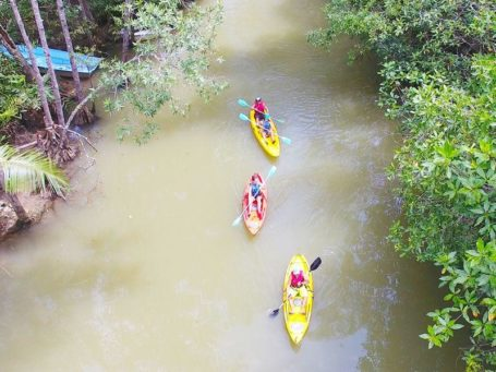 Kayak-Tour im Nationalpark Manuel Antonio