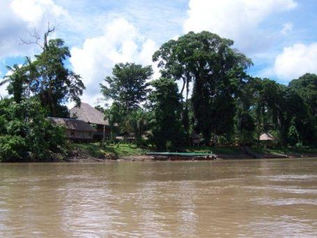 Ankunft bei der Eco Amazonia Lodge