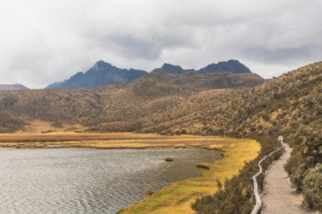 Die Limpiopungo im Cotopaxi-Nationalpark