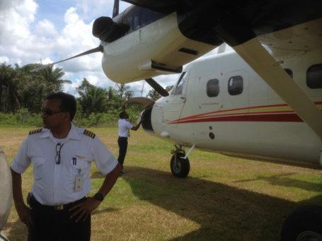 Flieger nach Awarradam