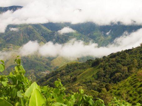 Das Hochland von Costa Rica