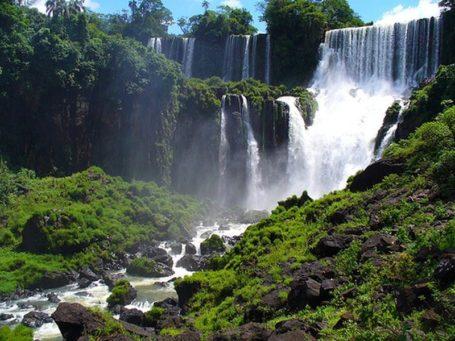 Die Wasserfälle von Iguazu