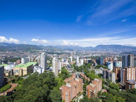 Blick über Medellin