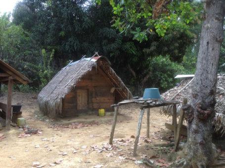 Maroon Hütte Suriname