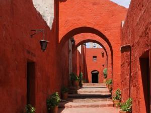 Das Kloster Santa Catalina in Arequipa