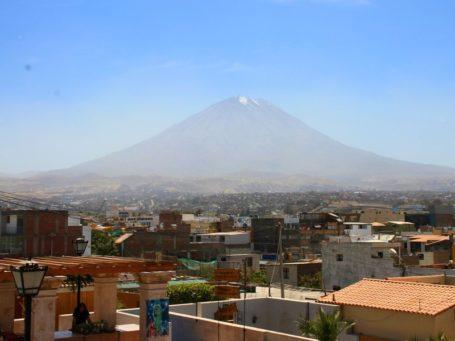 Vulkan Misti bei Arequipa