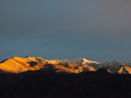 Sonnenaufgang in den Anden