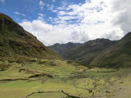Panorama auf dem Choquequireao Trek