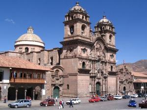 Die Kathedrale von Cusco