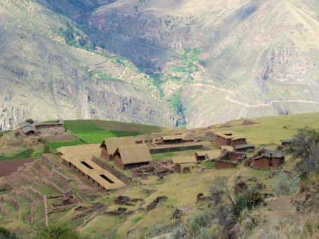 Huchuy Qosqo Ruinen