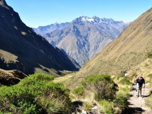 Bergpanorama auf dem Inka Trail