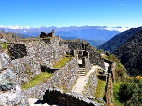 Die Ruinen von Sayacamarca