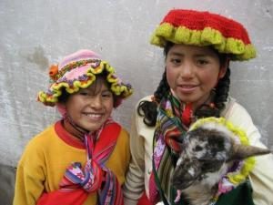 Indio-Kinder in Peru