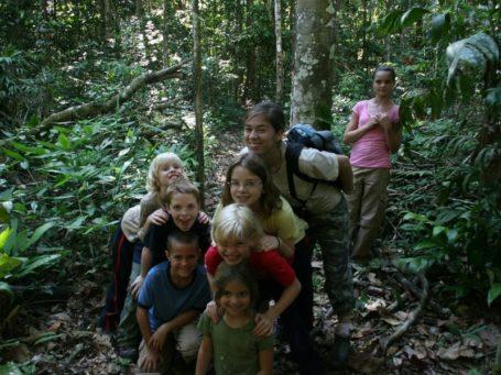 Urwaldwanderung