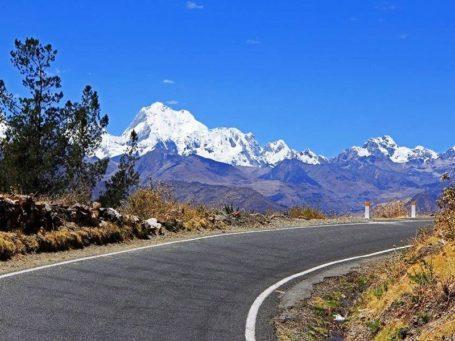 Spektakuläre Fahrt nach Cajamarca