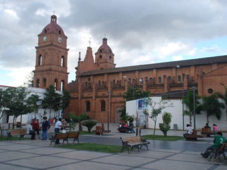 Die Kathedrale von Santa Cruz