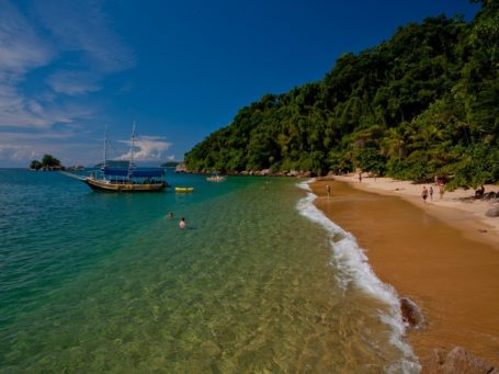 Traumstrand auf Ilha Grande