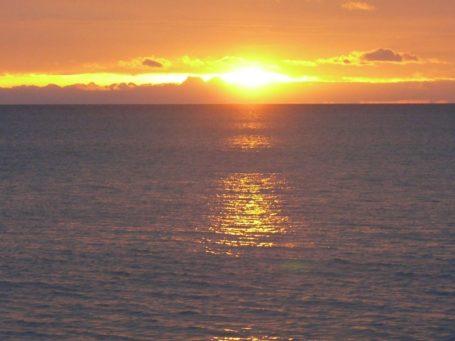 Sonnenuntergang bei Uvita