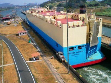 Schleuse am Panamakanal