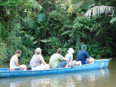 Bootstour im Tortuguero Nationalpark