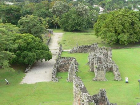 Ruinen des alten Panama