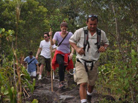 Wanderung im Nationalpark Arenal